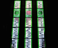 Stained glass window, Southampton University library