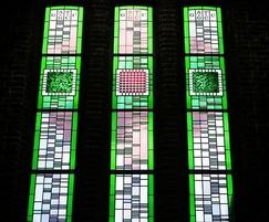 Bespoke window, Southampton University Hartley Library