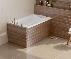 The Yasahiro installed as a corner bath
