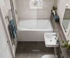 Cabuchon Studio space saving bath
