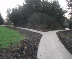 Historic pathway renovation