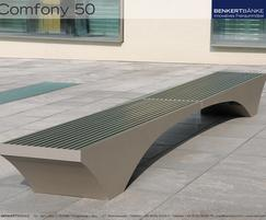 Comfony 50 stool bench, no armrests