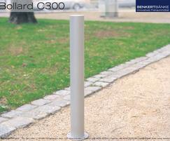 Benkert C300 stainless steel bollard