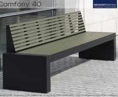 Benkert Comfony 40 bench without arms