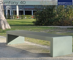 Benkert Comfony 40 stool bench no arms