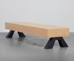 Sonborg 10 H contemporary bench for public spaces
