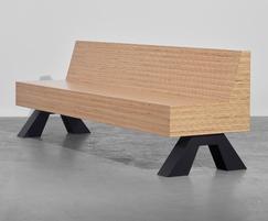 Sonborg 10 H contemporary seat for public spaces