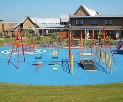 Playground wet pour surfacing