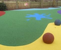 Safer playground surfacing