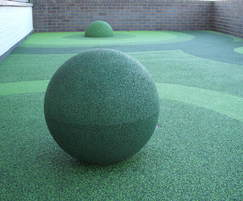 Green Playtop Sphere