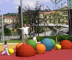 Colourful Playtop Spheres