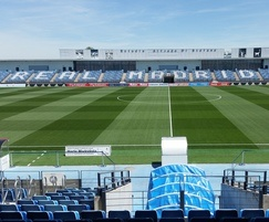 HERO Hybrid Grass installed at Real Madrid CF