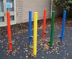Stilt Weaving Posts