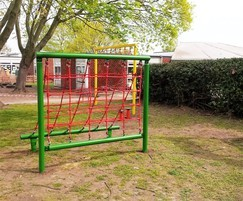 Steel trim trail for Chuter Ede Primary School
