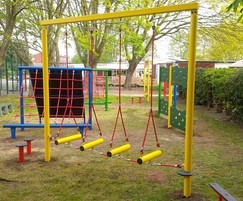 Swinging Traverse for Chuter Ede Primary School