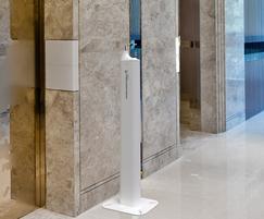 Cabral indoor and outdoor hand sanitiser dispenser
