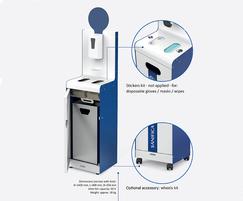 Colombo hand sanitisation point