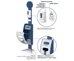 Bering sanitisation point - components