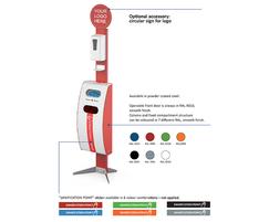 Bering sanitisation point - options