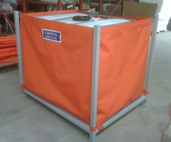 Portable bunds for tanks and IBCs