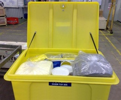 Spill kits made to any size for oil or chemicals