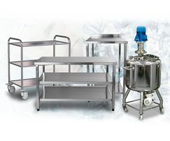 Labtex: Bespoke fabrications & furniture partnered with Labinox