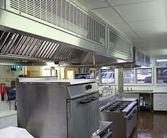 Catervent kitchen canopy systems