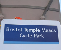 Bristol Temple Meads - cycle parking facility