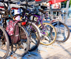cycle parking facility - Bristol Temple Meads