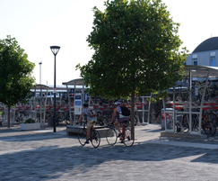 Cycle storage for Bristol Temple Meads train station