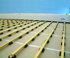 Logic floor levelling system