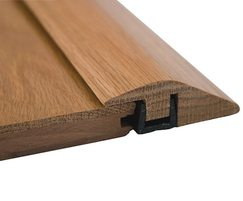 Woodfix rebated R-section