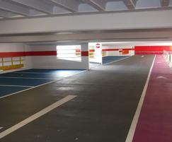 Nu-Guard Anti-Carbonation Coating - car park, Jersey