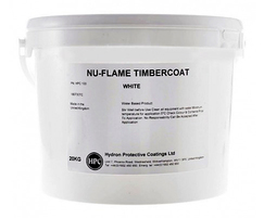 Nu-Flame Timbercoat fire-retardant paint for wood