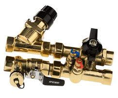 MODULA balancing and temperature control valve system