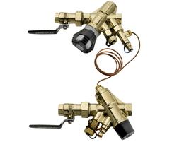 PVS dynamic pressure/ flow regulation valve arrangement