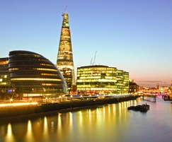 Frese valves for the Shard's offices and restaurants
