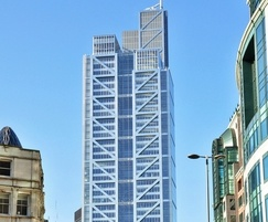 Frese valves were supplied for Heron Tower offices