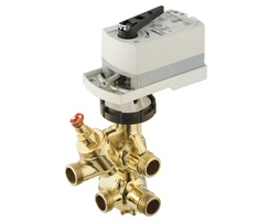 COMBIFLOW dynamic 6 way valve for HVAC applications