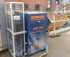 Siltbuster pHD on Site