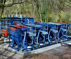 Water treatment works - Wimbleball Dam