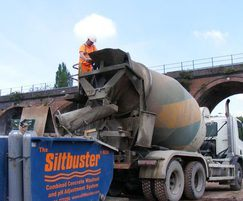 Siltbuster RCW (Roadside Concrete Washout System)