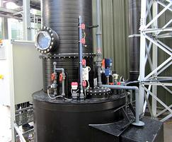 Kombi-skrub ammonia scrubber for gas streams