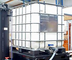 The IBC is suitable for acid and alkaline liquids
