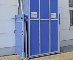WK-Flexline space-saving folding filling station
