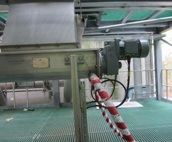 Shaftless screw press at Buxton
