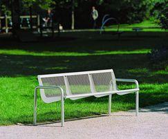 Charisma wire mesh bench