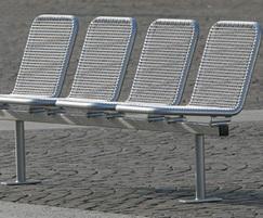 4-seater Allegro public seating