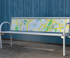 Customisable bench backrest