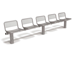 Sedia seating has a robust, contemporary design